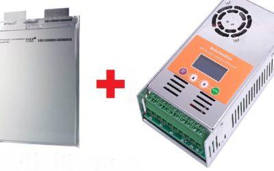 Контролер заряду і літієвий акумулятор